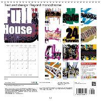 Text and design: Beyond monochrome (Wall Calendar 2015 300 × 300 - zum Schließen ins Bild klicken