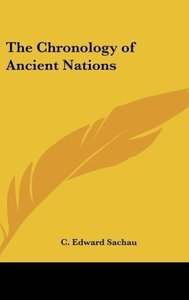 The Chronology of Ancient Nations