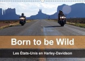 Born to be wild - Les États-Unis en Harley-Davidson (Calendrier