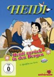 Spyri, I: Heidi zurück in den Bergen/DVD