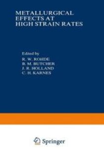 Metallurgical Effects at High Strain Rates