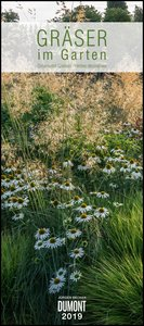 Gräser im Garten 2019 - DUMONT Wandkalender - Garten-Kalender