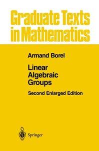 Linear Algebraic Groups