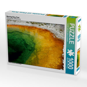 Morning Glory Pool 1000 Teile Puzzle quer