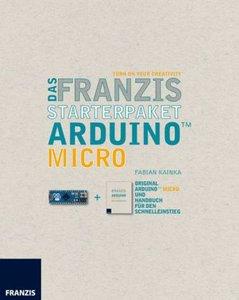 Das Franzis Starterpaket Arduino Micro, Platine + Handbuch