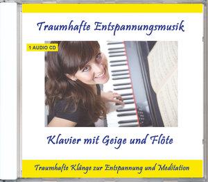 Traumhafte Entspannungsmusik-Klavier mit Geige