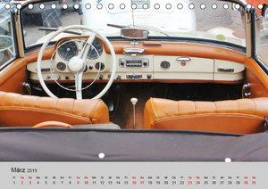 Der SL - Ästhetik pur von Mercedes Benz (Tischkalender 2019 DIN