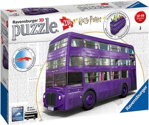 Ravensburger 11158 - Knight Bus, Harry Potter, 3D-Puzzle, 216 Te