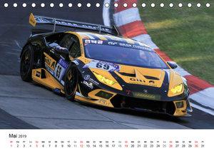 Motorsport aus Sant\'Agata (Tischkalender 2019 DIN A5 quer)