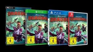 Dragons, Aufbruch neuer Reiter, 1 PS4-Blu-ray Disc