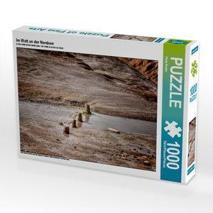 Im Watt an der Nordsee 1000 Teile Puzzle quer