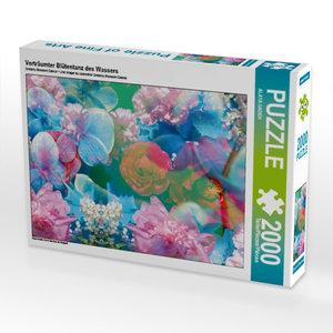 CALVENDO Puzzle Verträumter Blütentanz des Wassers 2000 Teile Le