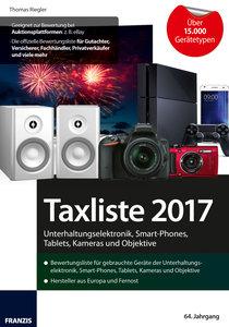 Taxliste 2017