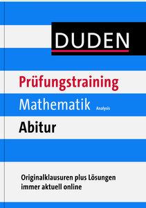 Duden Prüfungstraining Mathematik Abitur Analysis