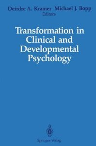 Transformation in Clinical and Developmental Psychology