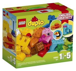 LEGO® DUPLO® 10853 - Kreativ-Bauset bunte Tiere