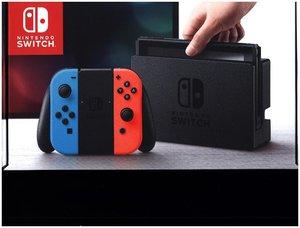 Nintendo Switch Neon-Rot / Neon-Blau, 1 Konsole