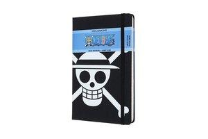 Moleskine Notizbuch Large/A5 Liniert, One Piece Flagge