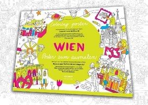 Wimmelstadtplan Vienna / Wien