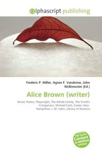Alice Brown (writer)