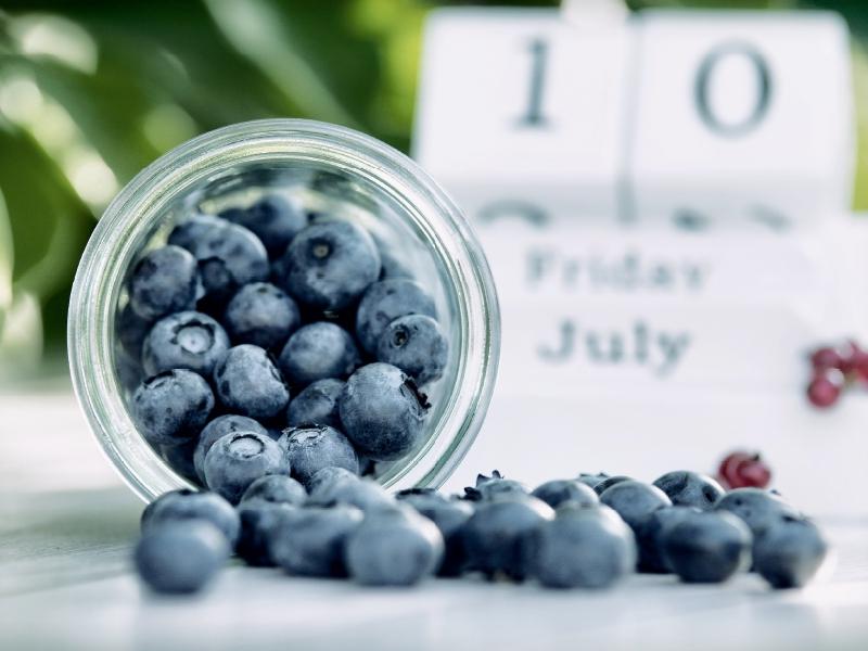 Sommerküche Für Freunde : Blaubeeren in der sommerküche 1000 teile puzzle quer [148489458