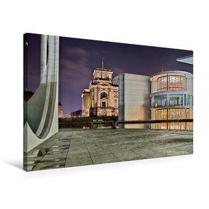Premium Textil-Leinwand 75 cm x 50 cm quer Berlin - Abgeordetenh