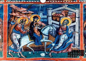Churches of Moldavia (Wall Calendar 2020 DIN A4 Landscape)