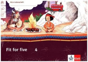 Mein Indianerheft. Fit for five. Arbeitsheft Klasse 4 (5-er Pake