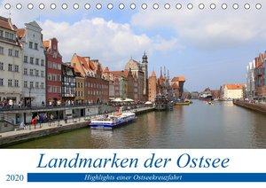 Landmarken der Ostsee (Tischkalender 2020 DIN A5 quer)