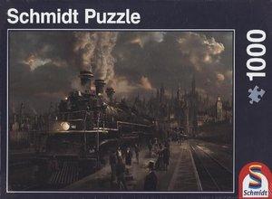 Lokomotive. Puzzle 1000 Teile