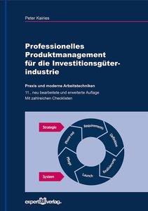 Professionelles Produktmanagement für die Investitionsgüterindus