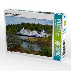 Fährschiff Northern Adventure 2000 Teile Puzzle quer