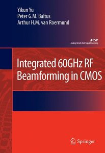 Integrated 60GHz RF Beamforming in CMOS