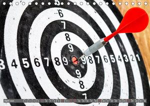 Darts. Konzentration - Sport - Spannung (Tischkalender 2020 DIN