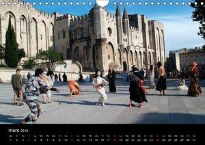 Avignon Le Palais des Papes et le Pont St-Bénézet (Calendrier mu