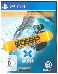 Steep X Games, 1 PS4-Blu-ray Disc (Gold Edition)