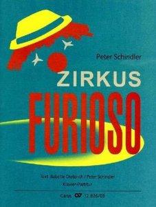 Zirkus Furioso, Klavierpartitur