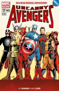 Uncanny Avengers 02 - Marvel Now!