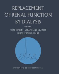 Replacement of Renal Function by Dialysis