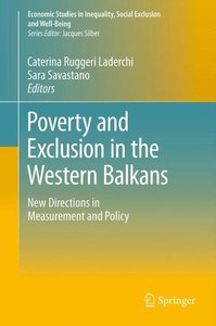 Poverty and Exclusion in the Western Balkans