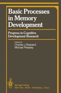 Basic Processes in Memory Development