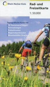 Rad & Freizeitkarte Rhein-Neckar-Kreis