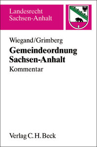 Gemeindeordnung für das Land Sachsen-Anhalt