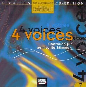 4 voices - CD Edition. Die klingende Chorbibliothek. CD 7. 1 Aud