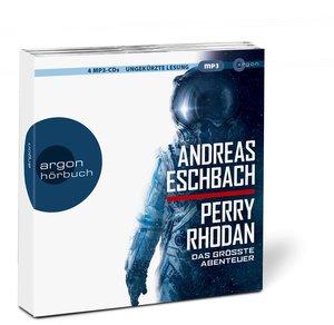 Perry Rhodan - Das größte Abenteuer, 4 Audio-CDs, MP3 Format