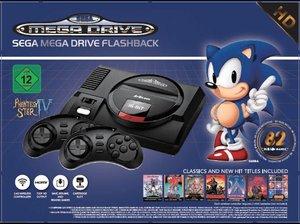 SEGA Mega Drive Flashback 8 HD, Retro-Konsole mit 82 Classic-Gam