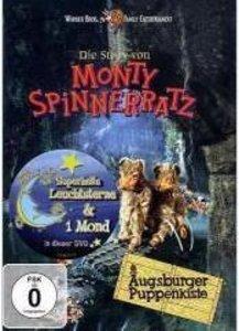 Die Storyvon Monty Spinnerratz + Superhelle Leuchtsterne & Mond