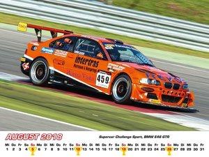 BMW im Rennsport Kalender 2016