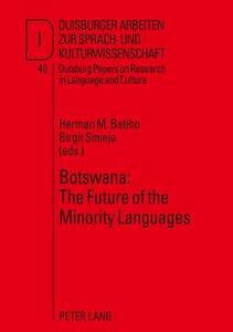 Botswana: The Future of the Minority Languages