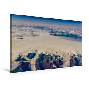 Premium Textil-Leinwand 75 cm x 50 cm quer Grönlands Ostküste